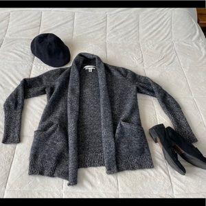 ✨ MaxStudio 100% Cashmere Sweater Cardigan Pockets